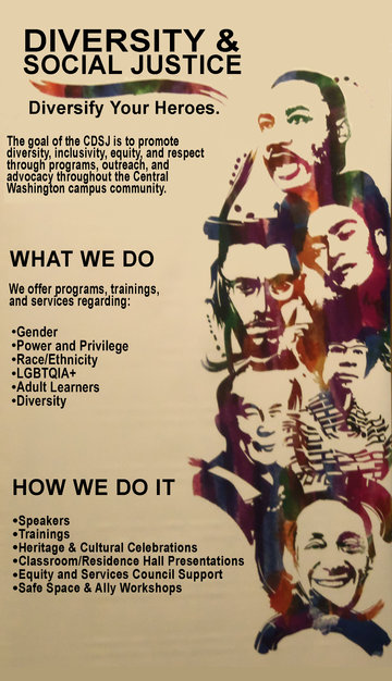 Banner from workshop by Central Washington University (Diversity and Equity Center)