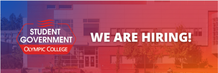The Student Government of Olympic College is hiring!