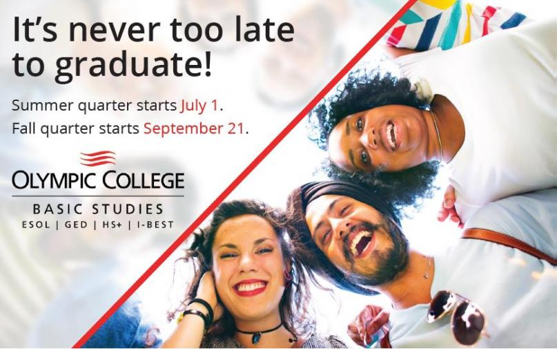 It's Never Too Late To Graduate!