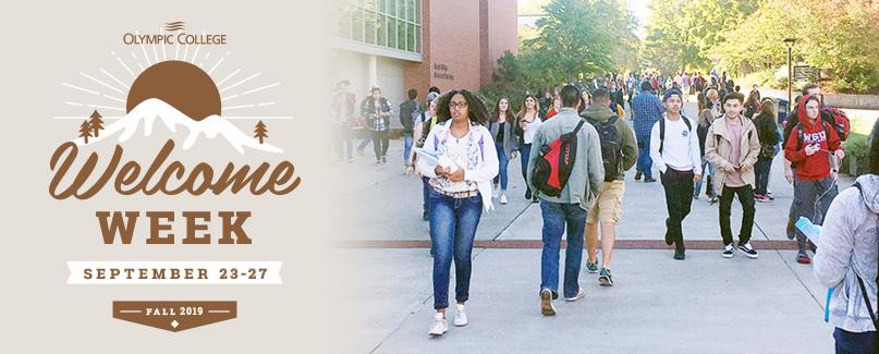 Welcome Week September 23-27