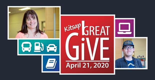 Kitsap Great Give. April 21, 2020