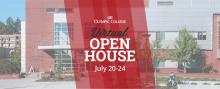 Olympic College Virtual Open House July 20-24