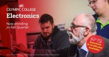 Study electronics at Olympic College