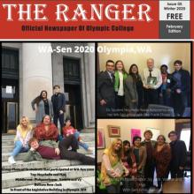 Wasen as front cover for the ranger news